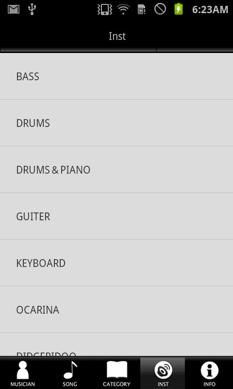 Real Ringtones- screenshot