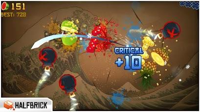 تحميل لعبة تقطيع الفاكهة Fruit Ninja 2.3.2 APK-iOS للاندرويد والايفون مجاناً