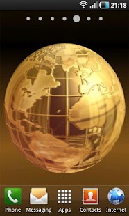 Golden Globe LWP- screenshot thumbnail