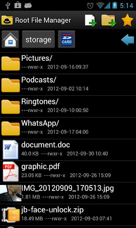 Root File Manager 1.0.5 screenshot 34468