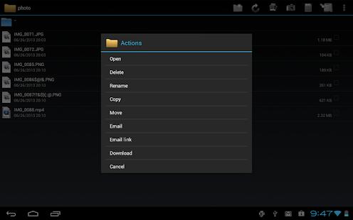 WebDAV Navigator - screenshot thumbnail