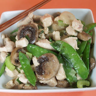 Moo Goo Gai Pan (Chicken With Mushrooms)