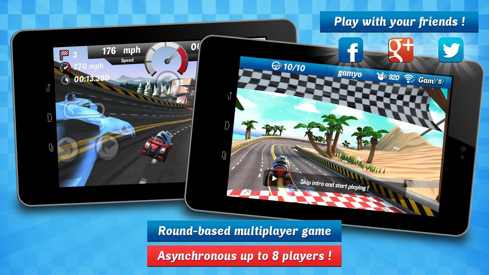 Gamyo Racing- screenshot