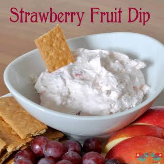 Strawberry Fruit Dip.