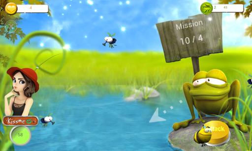 玩休閒App Frog Kiss Me Saga免費 APP試玩