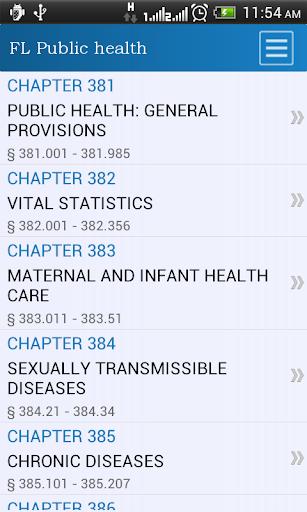 FL Public Health Code