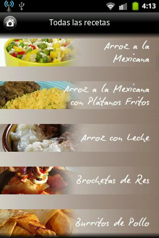 iCocinar Cocina Mexicana- screenshot
