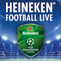 HEINEKEN FOOTBALL LIVE logo
