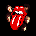 The Rolling Stones  blk icons logo