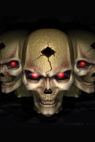 3D Skull - screenshot