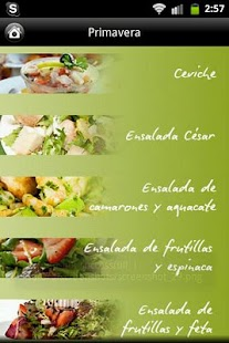 iCocinar Ensaladas- screenshot thumbnail