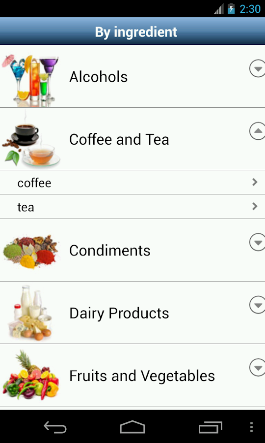 Sos cocktail pro drink recipes android apps on google play for App cocktail