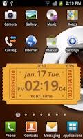 Screenshot of World Time Ticket