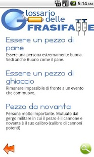Glossario delle Frasi Fatte - screenshot thumbnail