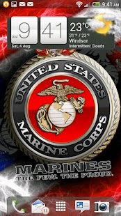 USMC Live Wallpaper HD FREE - screenshot thumbnail