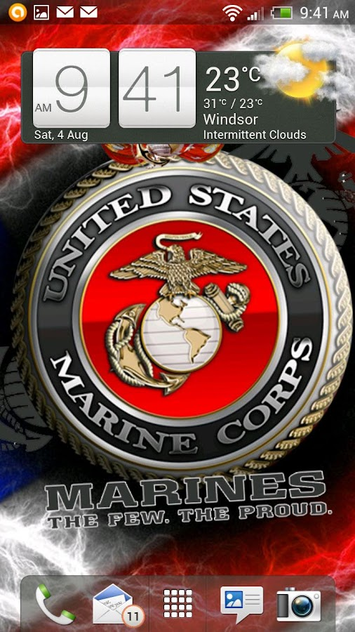 USMC Live Wallpaper HD FREE- screenshot
