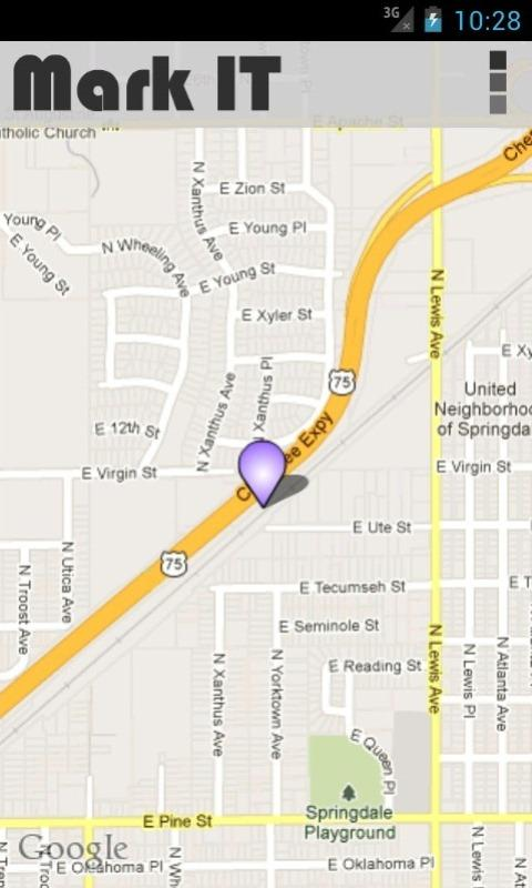 Mark  IT - GPS - screenshot