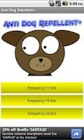 Screenshot of Anti Dog Repellent +