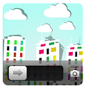Colorful Paper City Go Locker icon