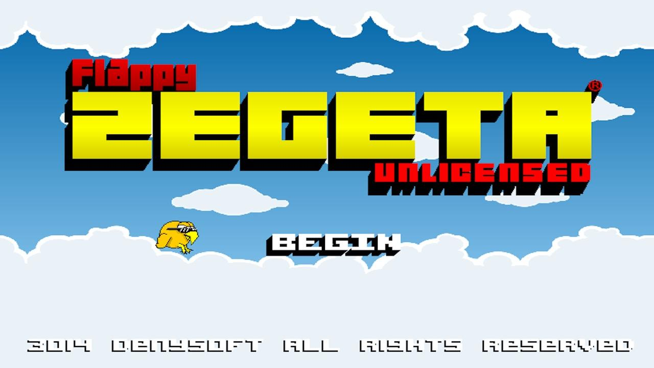 Flappy Zegeta®- screenshot