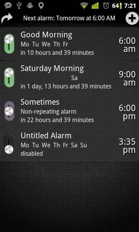 AlarmDroid Pro [Extension] - screenshot
