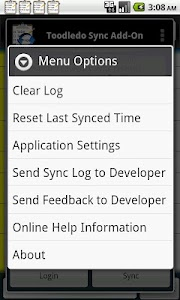 Toodledo.com Sync Add-on screenshot 1