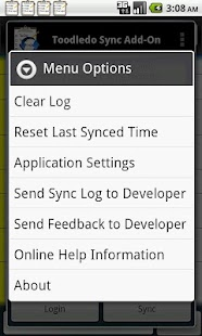 Toodledo.com Sync Add-on- screenshot thumbnail