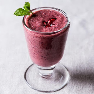 Triple Pomegranate Smoothie.