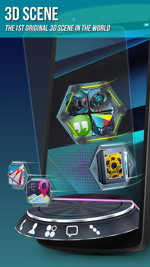 Next Launcher 3D – Screenshot