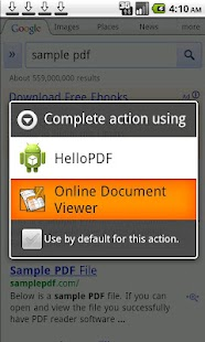 Online Document Viewer - screenshot thumbnail
