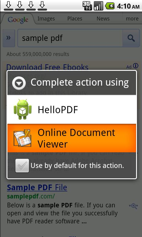 Online Document Viewer - screenshot