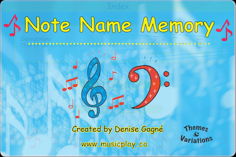 Note Name Memory