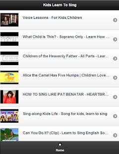 Kids Learn To Sing - screenshot thumbnail