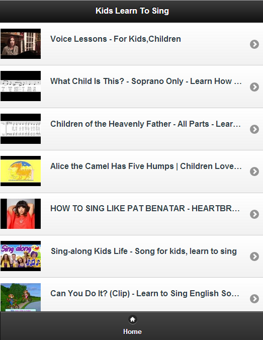 Kids Learn To Sing - screenshot