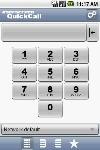 QuickCall - screenshot