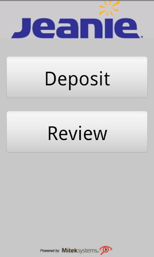 Jeanie Mobile Check Deposit V2