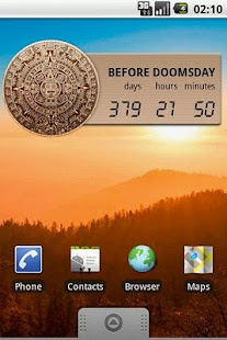 Mayan Doomsday Widget - screenshot thumbnail