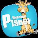 Alphabets Planet Lite icon