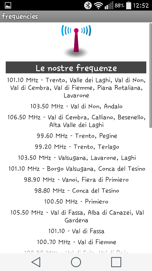 Radio Dolomiti- screenshot