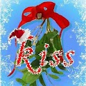 Christmas Mistletoe Kisses logo