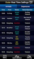 Screenshot of Macao Sailings