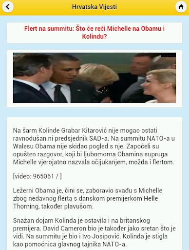 玩免費新聞APP|下載Vijesti iz Hrvatske app不用錢|硬是要APP