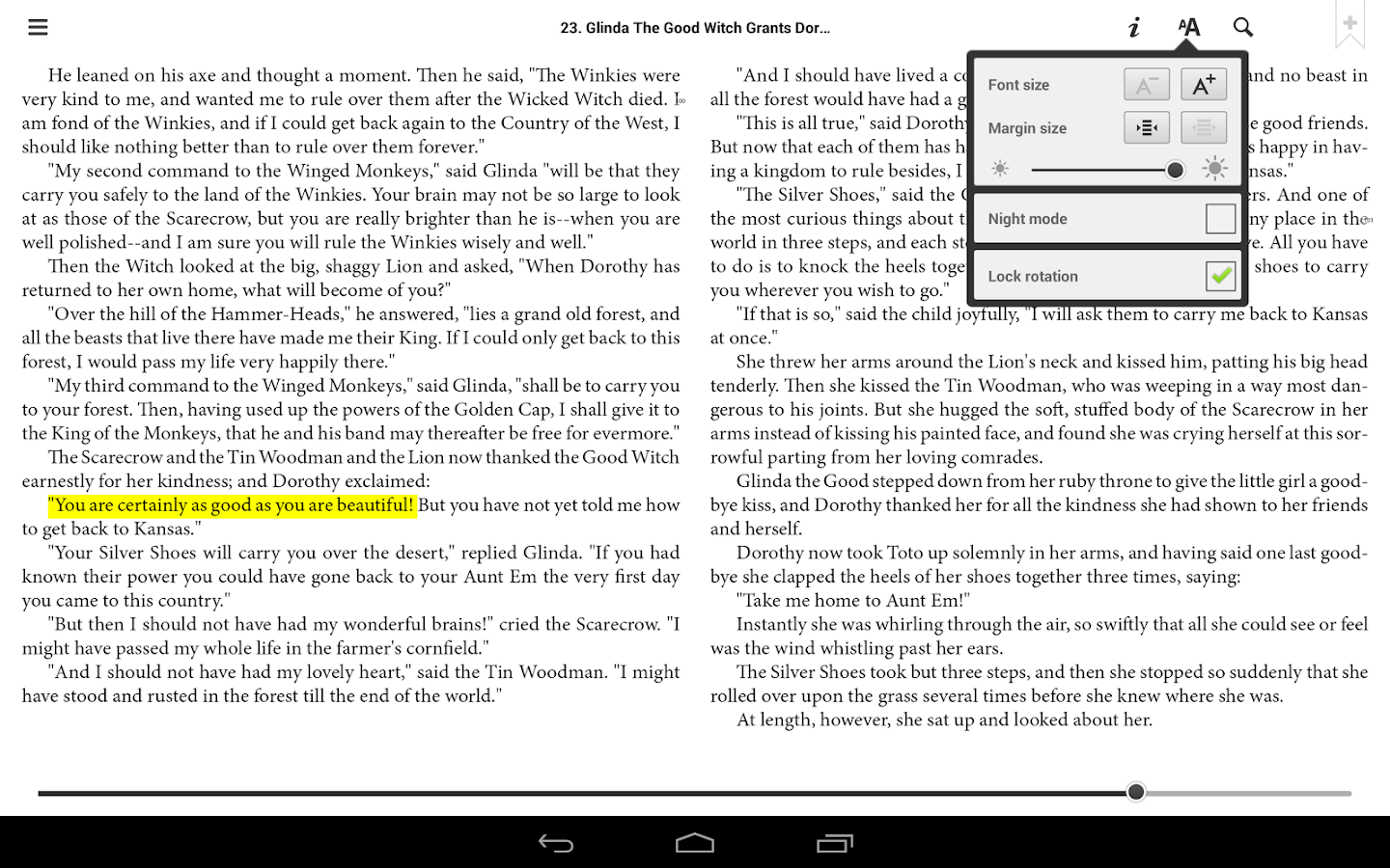 txtr ebooks - screenshot