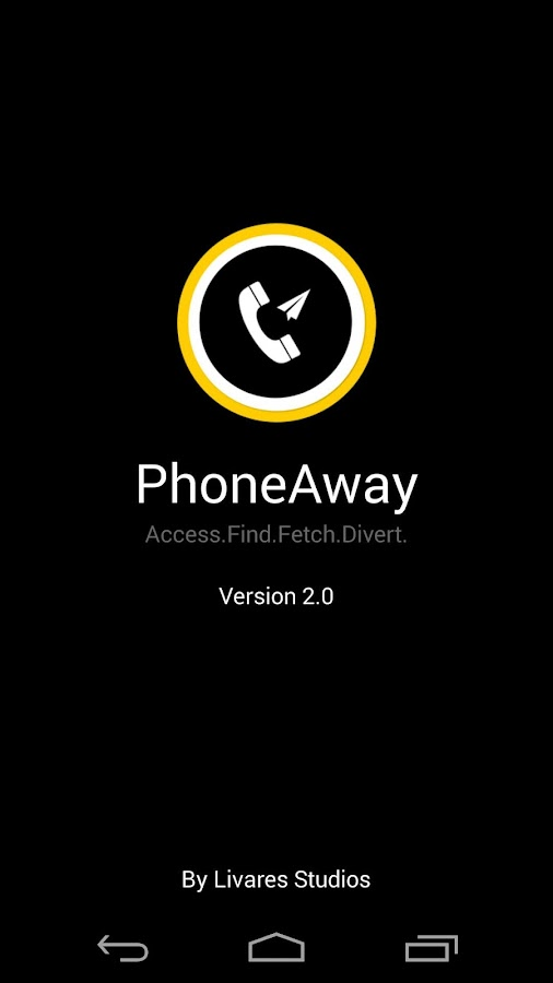 Phone Away Plus - screenshot