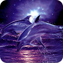 Dolphin and Sea icon