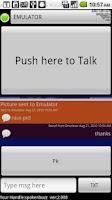 Screenshot of ChirpMe PTT Walky Talky
