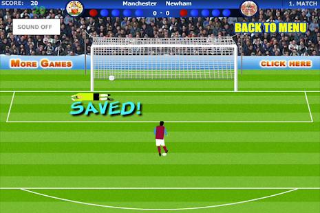 Kral Penaltı Futbol Oyunu 2014 Ekran Görüntüsü