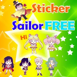 Sailor Sticker Line FREE|玩個人化App免費|玩APPs