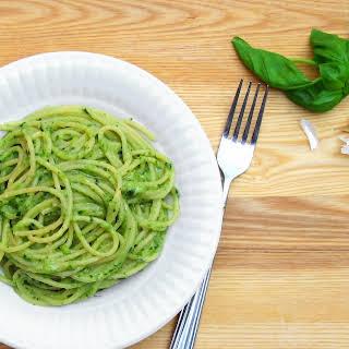 Zucchini Pesto - pressure cooker pasta sauce.