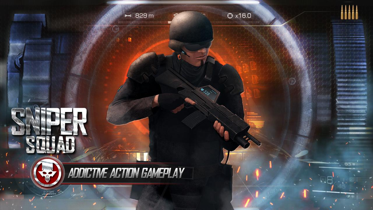 SNIPER SQUAD – Action Game- screenshot